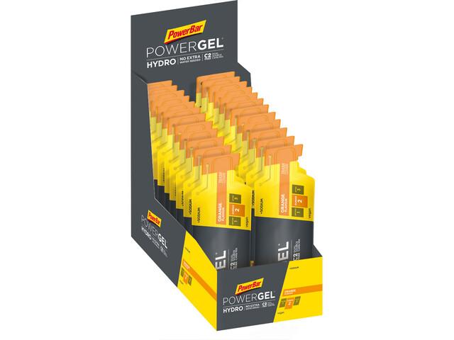 PowerBar PowerGel Hydro Caja 24x67ml, Orange